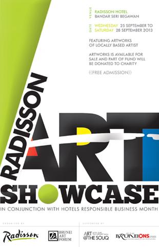 art showcase radisson brunei